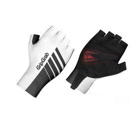 GripGrab Aero TT Short Cycling Gloves Black/White